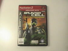 Tom Clancy's Splinter Cell: Pandora Tomorrow  PS2 Play Station Tested Good