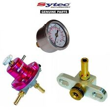 SYTEC SAR FUEL PRESSURE REGULATOR KIT + FUEL GAUGE - MITSUBISHI EVO 4 5 6 7 8 9