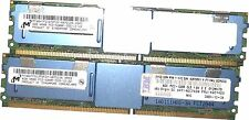lot 43X5061 IBM 8GB (2x4GB) PC2-5300F 4RX8 ECC REG MEMORY Dimm