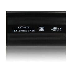 """USB 2.0 SATA 2.5"""" case hard disk esterno alloggio Drive + cavo per PC MAC"""