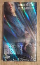 MERCURY RISING VHS TAPE BRUCE WILLIS & ALEC BALDWIN