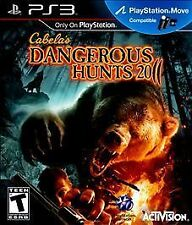 Cabela's Dangerous Hunts 2011 GAME Sony PlayStation 3 PS PS3 2K11 11