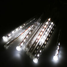 240 LED Meteor Shower Falling Star/Rain Drop/Icicle Snow Xmas Party String Light