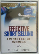 *New Sealed DVD* EFFECTIVE SHORT SELLING by Michael Smith * Stock Trading DVD *