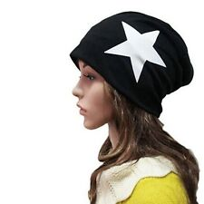 Women's Mens Warm Winter Cotton Beanie Hats Slouch Ski Hat Oversize Hip Hop Caps