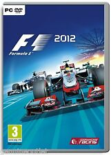 F1 2012  FORMULA ONE 2012 for PC (DVD-ROM) SEALED NEW