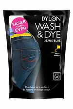 400g JEANS BLUE DYLON WASH & DYE FABRIC CLOTHES DYE