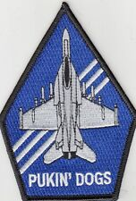 VFA-143 PUKIN' DOGS COFFIN SHOULDER PATCH