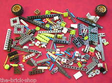 Lot vrac de pieces LEGO NINJAGO / Set 9444 Cole's Tread Assault  /  TBE !!!