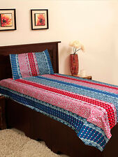 Homefab India Cotton Single Bed-Sheet with 1 Pillow Cover (Single154)