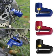 Utility Motorcycle Bicycle Bike Disk Disc Brake Rotor Safe Lock with 2 Keys Set