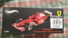Hot Wheels Elite F 2004 - Ferari - M.Schumacher - Germany GP 2004
