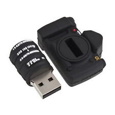 New Black Camera 8GB USB Flash Pen Drive Memory Stick Thumb UL