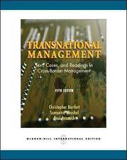 Transnational Management: Text, Cases & Readings in Cross-Border Management: Tex