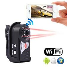 WIFI Mini DV IP Wireless Spy Cam Night Vision Camera Security For Android IOSAB