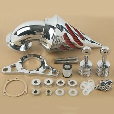Chrome Air Cleaner Filter for Harley Touring Road Street Electra Glide 02-07 03