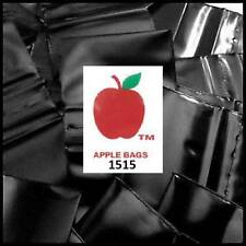 "BLACK 1000 APPLE BRAND 1.5x1.5 2mil ZIPLOCK BAGS 1,000 baggies 1.5"" 1515 x 1.5"