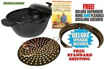 NEW Minden Anytime Grill- BLACK For use w/gas & electric stovetops AS SEEN ON TV