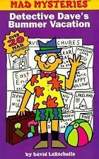 Mad mysteries #5: detective dave's bummer vacation (Mad Libs)