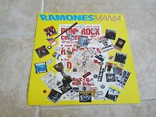 THE RAMONES SIRE RECORDS 1988 12X12 PROMO ONLY POSTER FLAT
