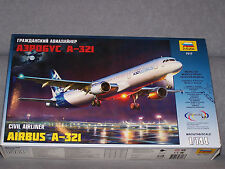 1/144 ZVEZDA A-321 Airliner AIRBUS HOME LIVERY model kit NEW!