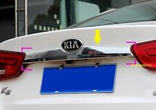 Chrome Rear Trunk Lid Cover Molding Strip Trim For Kia K5 Optima 2014 2015