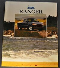 1996 Ford Ranger Pickup Truck Brochure XL XLT STX 4x4 Splash Excellent Original