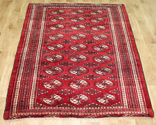 ANTIQUE TRADITIONAL PERSIAN Wool  3,6 X 5 FT  HANDMADE RUGS ORIENTAL RUG CARPET