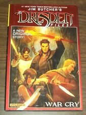 Dresden Files War Cry by Jim Butcher Dynamite (Hardback)  9781606905753