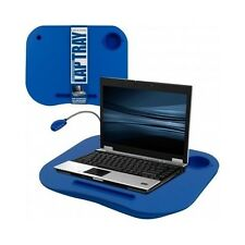 Bed Laptop Table Tray Blue