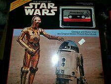 The Story of Star Wars Cassette tape and Book 1983 SEALED