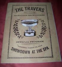 2013 Travers Stakes Program, Saratoga Race Course, Will Take Charge, Horse