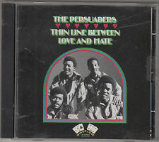 THE PERSUADERS - thin line between love and hate CD