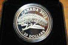 2012 $10. FINE SILVER 99.99% PRAYING MANTIS CANADIAN COIN 3799 /7500