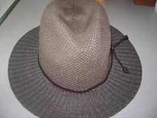 D & Y Womens Packable Fedora Hat NWT 100% Poly