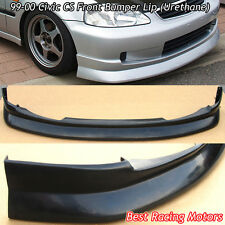 CS Style Front Lip (Urethane) Fits 99-00 Honda Civic 2dr