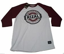NEW (XL) TEAM MANILA Jose RIZAL Bicycle Shop Baseball Tee Raglan Philippines