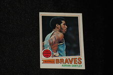 HOF ADRIAN DANTLEY 1977-78 TOPPS ROOKIE SIGNED AUTOGRAPHED CARD #56 BRAVES