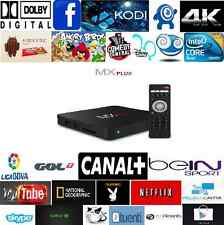 2017 MX PLUS ANDROID 5.1 AMLOGIC S905 NUEVO MODELO 4K QUAD MOVISTAR TV GRATUITO