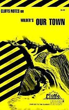 Our Town by Thornton Wilder, Cliffs Notes (1965, Paperback)  Like NEW!