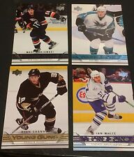 2006-07 Upper Deck Hockey LOT of ( 4 )  YOUNG GUNS Rookie SP Cards NO Dups RARE