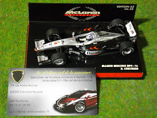 F1 McLAREN MERCEDES 2001 MP4-16 #4 COULTHARD 1/43 MINICHAMPS 530014304 formule 1