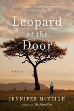 Leopard at the Door by Jennifer McVeigh 2017 Hardcover - NEW BEST PRICE ONLINE!