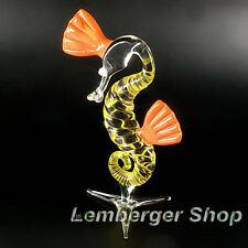 Seepferdchen aus Glas handgefertigte Glasfigur Schönes Geschenk 12 cm Hoch