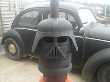 DARTH VADER STYLE PATIO SHED GARDEN CHIMINEA HEATER LOG WOOD BURNER STAR WARS