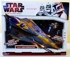 STAR WARS THE CLONE WARS ANAKIN'S JEDI STARFIGHTER NIB PRE DISNEY