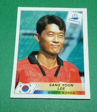 N°345 SANG YOON LEE SOUTH KOREA PANINI FOOTBALL FRANCE 98 1998 COUPE MONDE WM