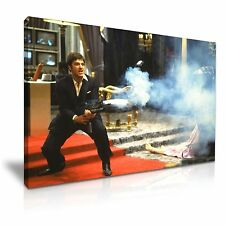 Scarface Tony Montana Canvas Wall Art Picture Print 76x50cm