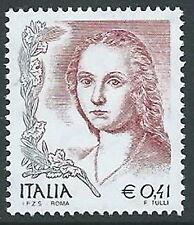 2002 ITALIA DONNA NELL'ARTE 41 CENT MNH ** - ED