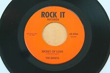 THE MINETS Secret Of Love/Together 45 Moody Teen Garage Psych HEAR